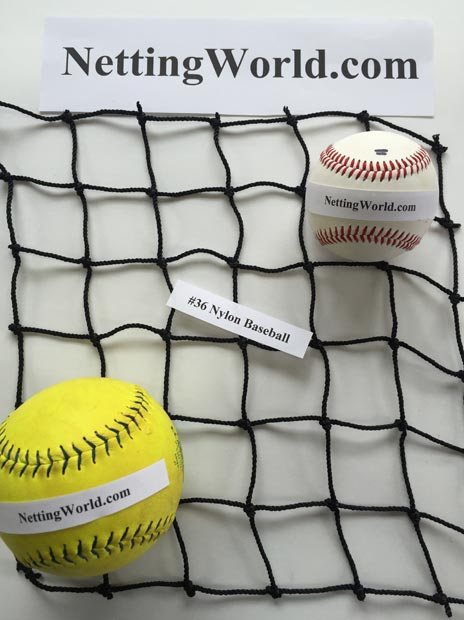 36 Baseball Netting